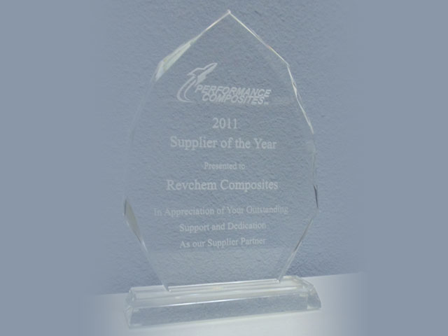 2011 Supplier of the Year