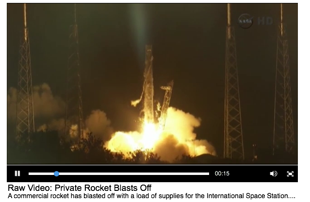 NASA hails SpaceX launch as 'a new era' for spaceflight