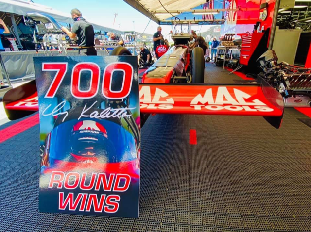 Team Kalitta: 700th Round Win and 4 consecutive final rounds