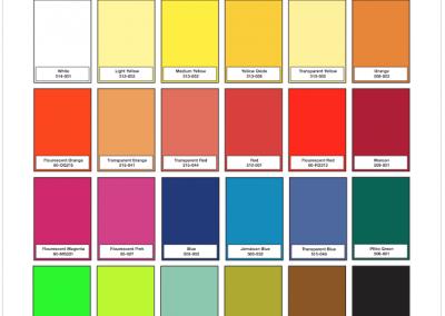 Pigment Color Guide